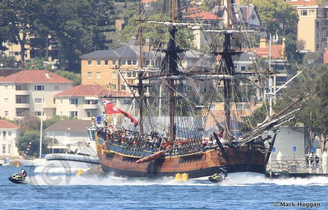 Tall Ships at the International Fleet Review
