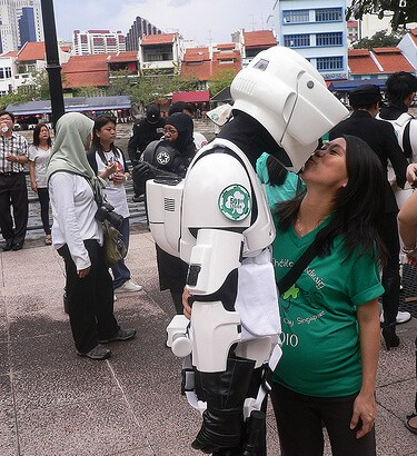 Star Wars Love in Singapore