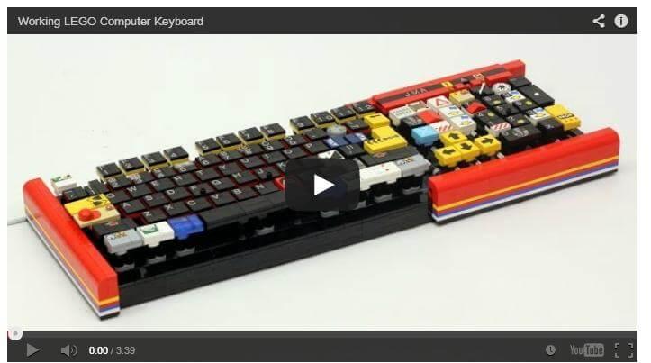 A Lego Keyboard