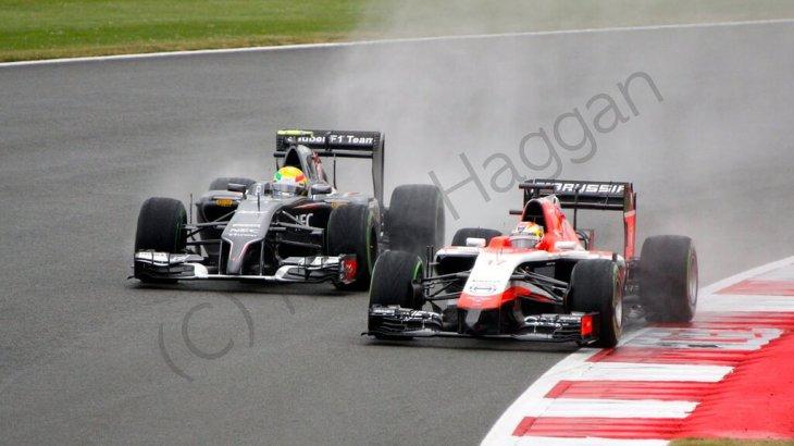 Qualifying for the 2014 British Grand Prix