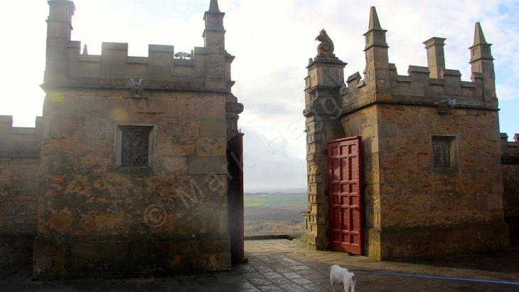 Berta explores Bolsover Castle