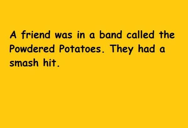powdered potatoes