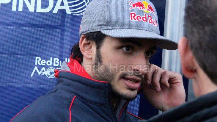 Carlos Sainz Jr in Formula One Winter Testing 2015