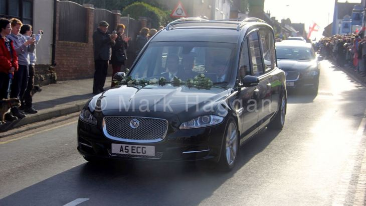 The funeral cortege of King Richard III