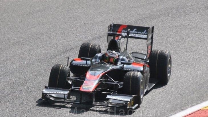Stoffel Vandoorne in GP2 at Spa 2015