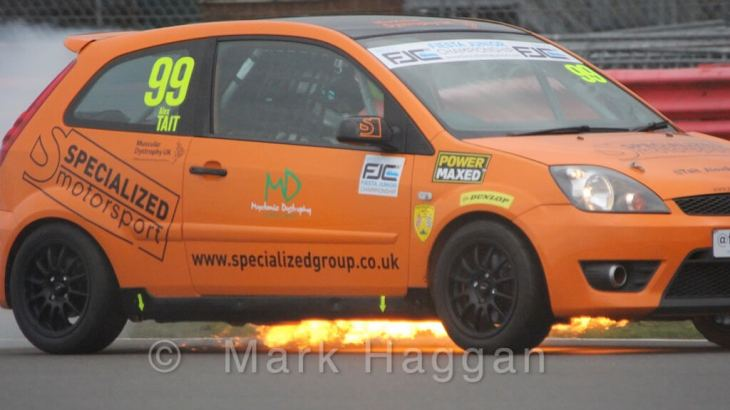 Alex Tait in Fiesta Junior Championship
