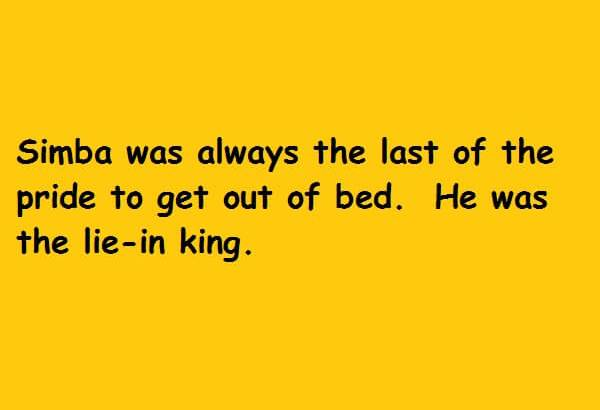 he was the lie in king