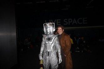 A Cyberman at Delete 50