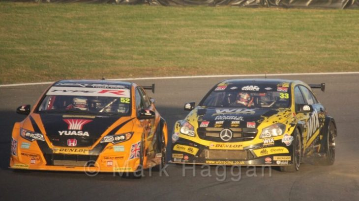 BTCC Brands Hatch 2016