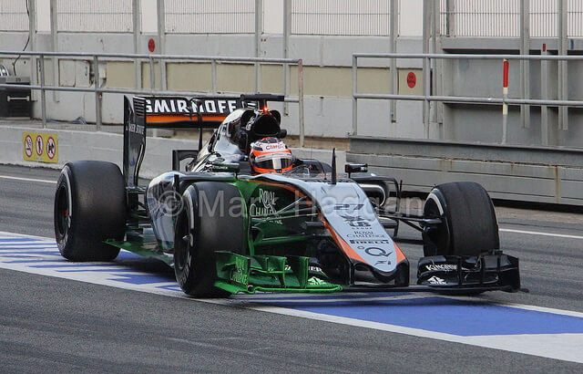 Painted Force India