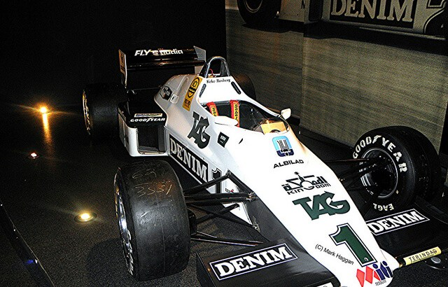 Keke Rosberg's 1983 Williams
