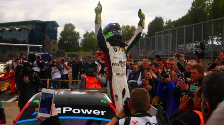 Colin Turkington takes his third BTCC title