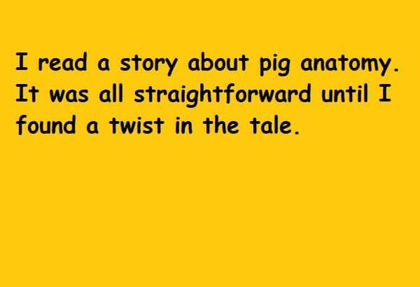 It was all straightforward until I found a twist in the tale