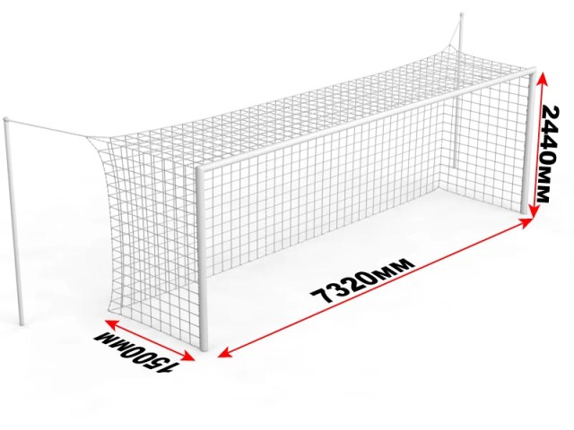 Ворота для большого футбола