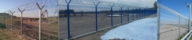 Заборы панельные; Забор; Ограждение спортивных площадок;