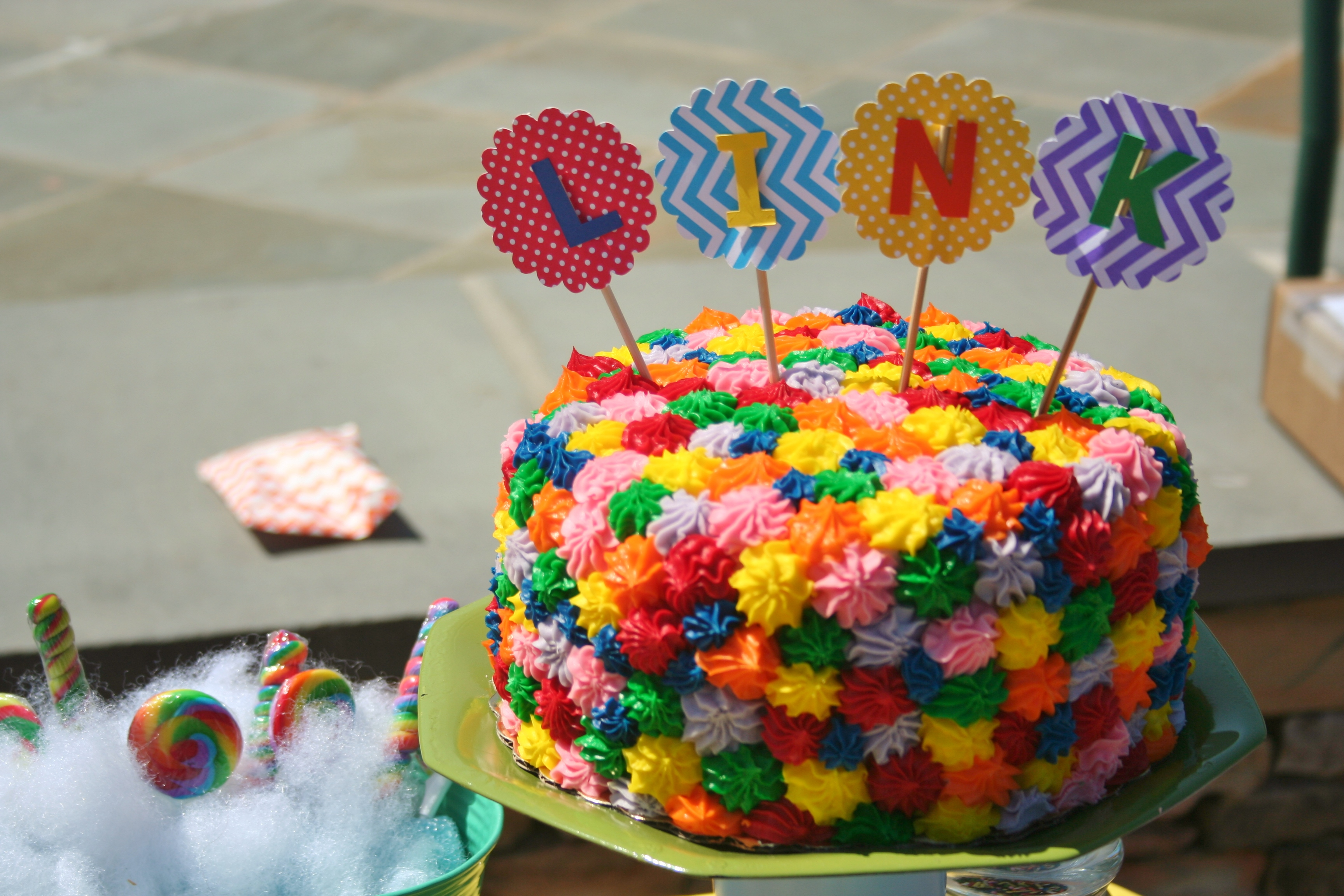 Lincoln S 1st Birthday Candy Land Themed Party
