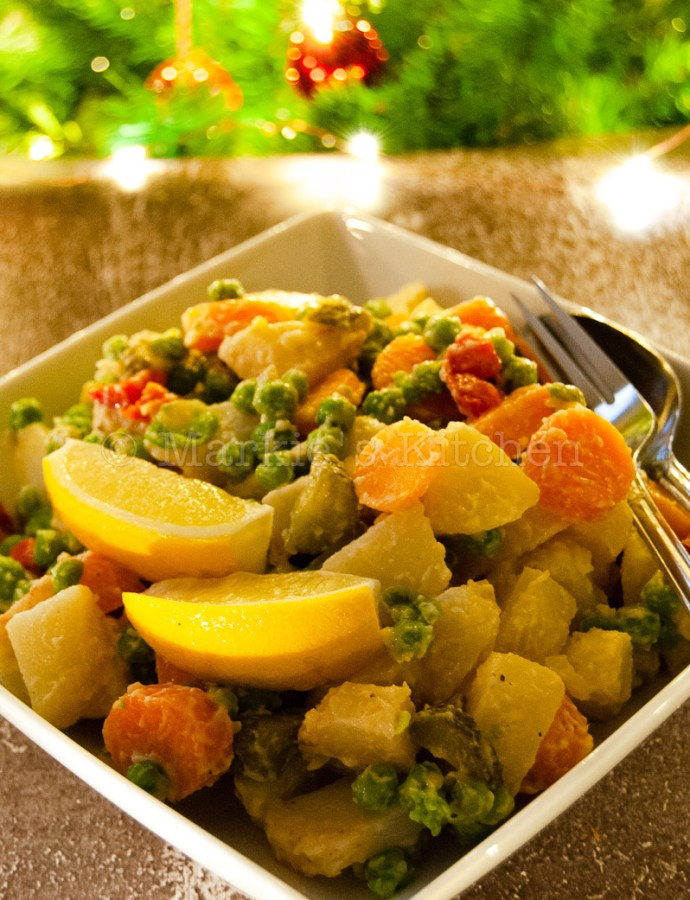 Party food at its best: Delicious potato salad