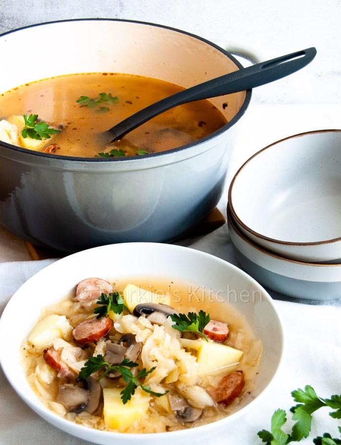 The best cabbage soup recipe – Czech zelňačka