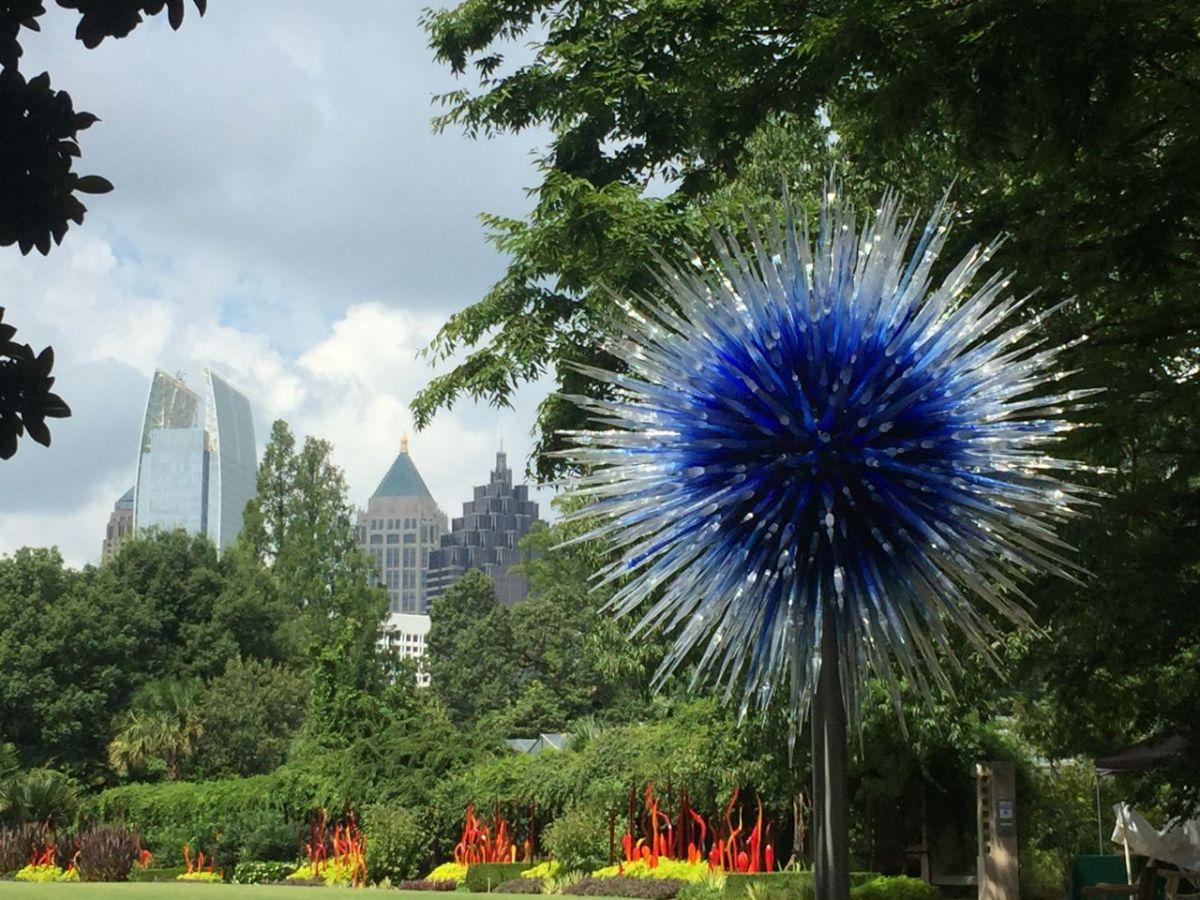 Chihuly Atlanta Botanical Garden