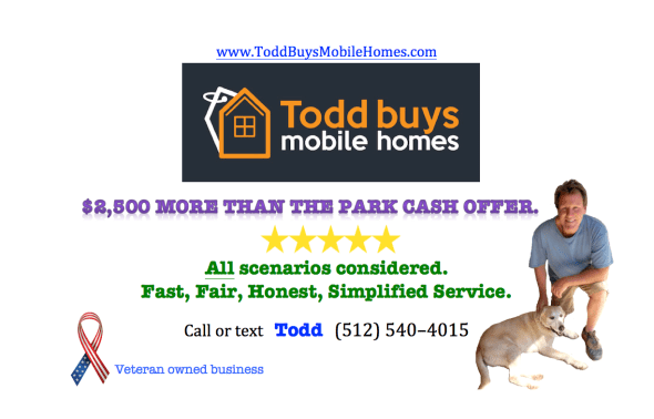 Toddbuys mobile homes flier