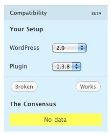 News – Plugin Compatibility Beta – WordPress org