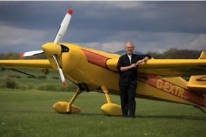 Global Stars pilot Steve Carver