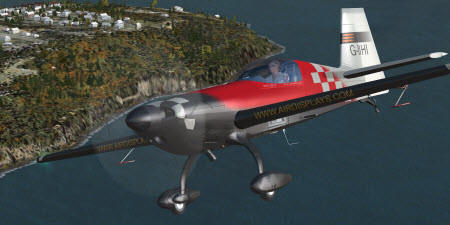 Flight Simulator Aircraft Skin for Windows Game Flight Simulator