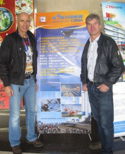 Yves Rossy and Mark jefferies