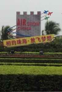 International air show china city advert