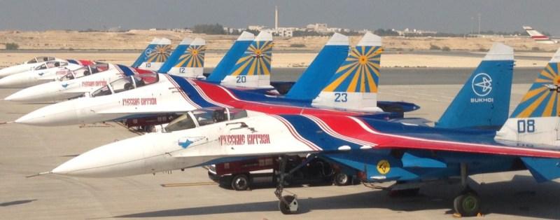 Bahrain SU27 Russian Knights