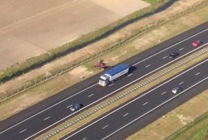 Landing on Highway