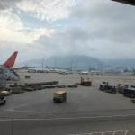 Arrived HK