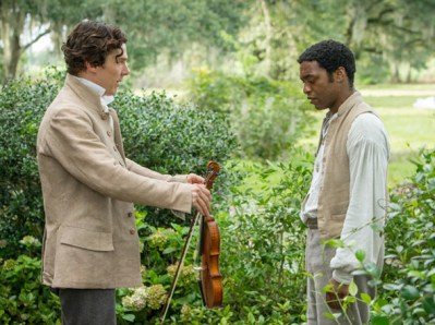 12 Years a Slave with Cumberbatch