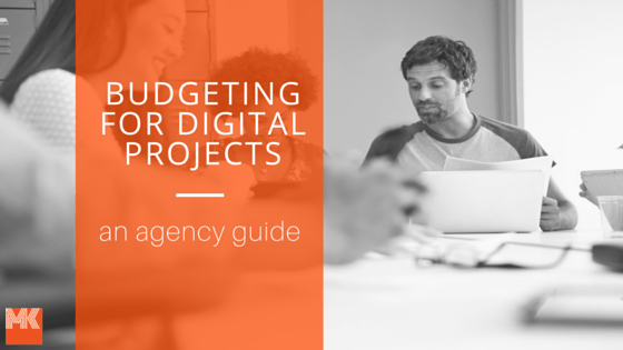 Agency digital marketing budgeting template blog post image