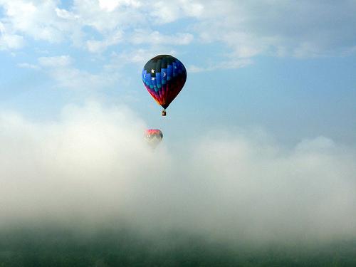 Hot Air balloons Flickr Mark Kelly blog