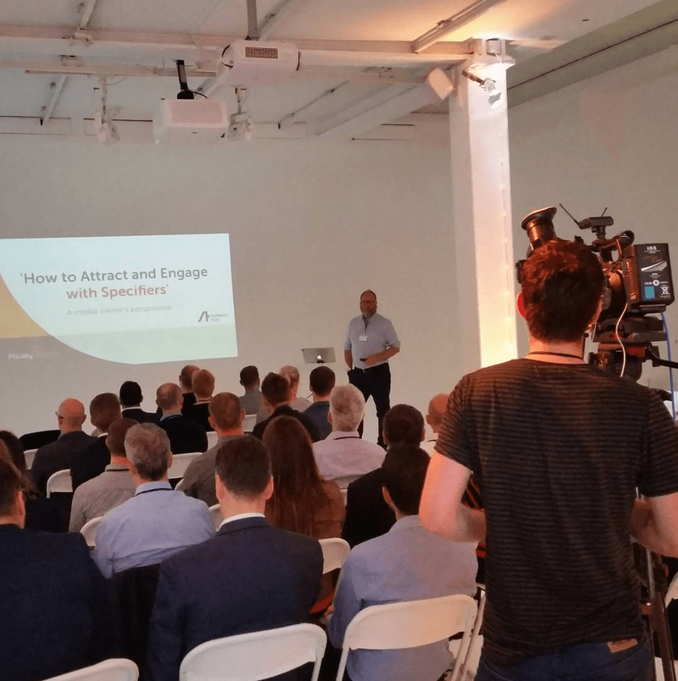 Pauley Creative deconstruct event promoting agency expertise