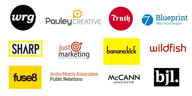 Mark Kelly Consultancy agency growth client logos