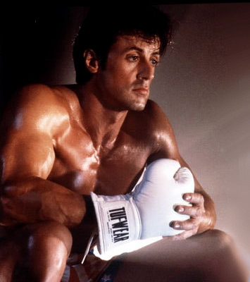 Rocky before the fight