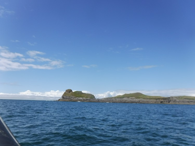 Worms Head Gower from the Sea
