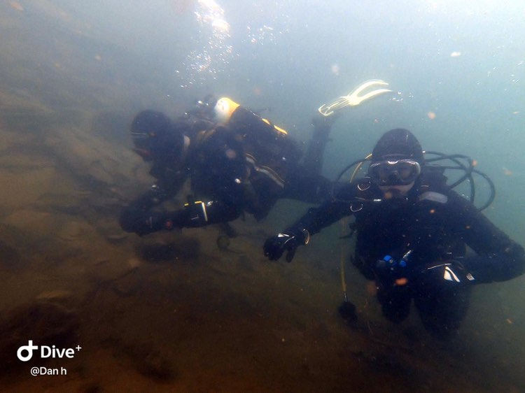 Rosebush Quarry Diving in West Wales with Mark Lewis Adventures
