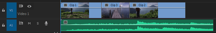 video editing in première pro