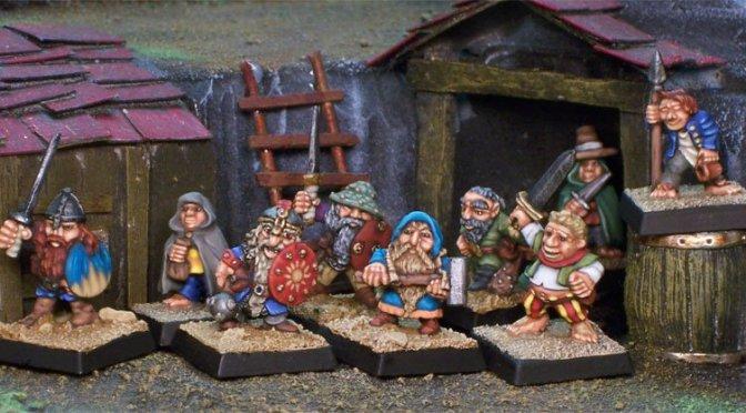 Halflings and Dwarves