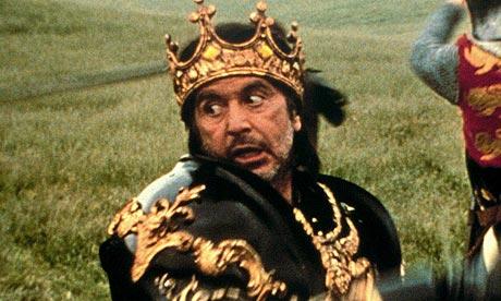 My kingdom for a horse - Al Pacino
