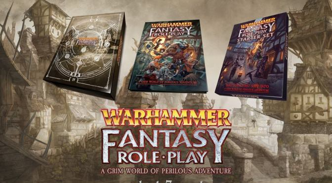 Warhammer Fantasy Role Play – 4th Edition – Preorders to be open Thursday 3rd May 2018!