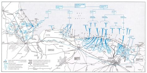 Combat HQ briefing map - D Day
