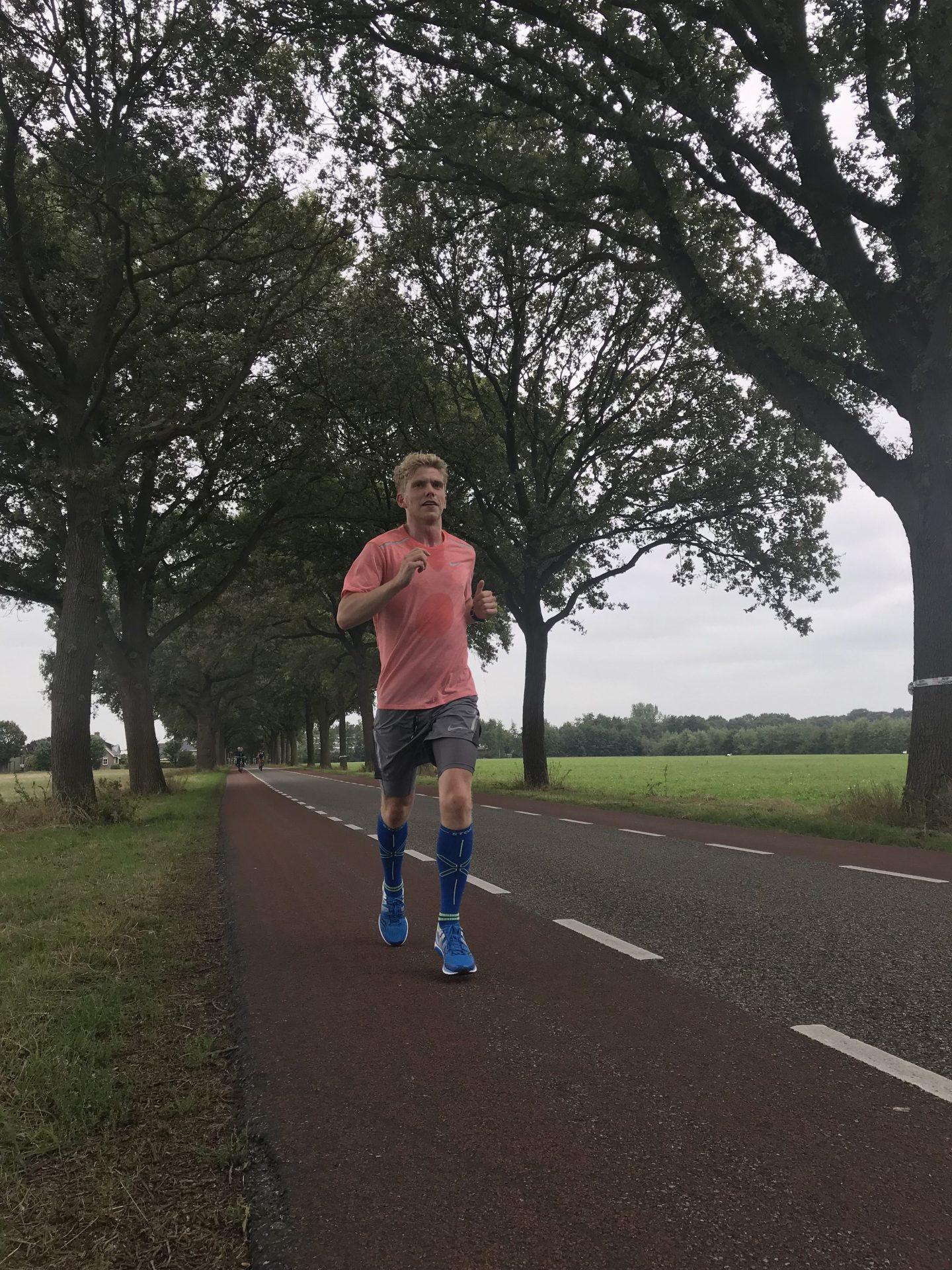 Marathon van Amsterdam: Nu al op de helft