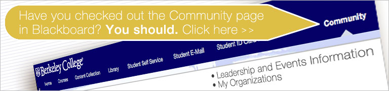 Blackboard Community Banner