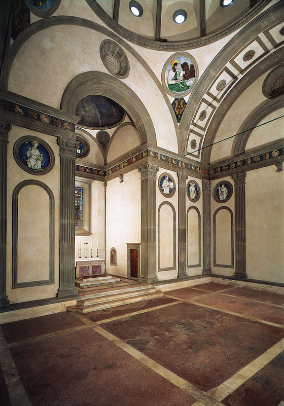 First Renaissance Buildings Conceived As A Central Plan Structure