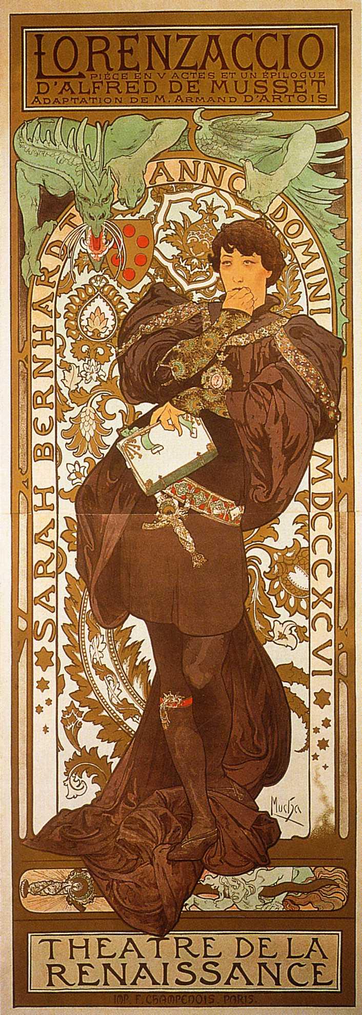Alphonse Mucha Cleveland State Art