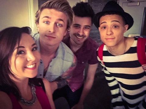 Renee's Selfie With LoudKidz